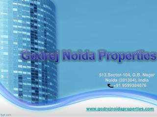 Godrej Noida Properties