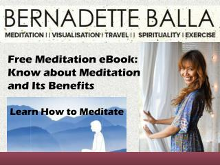 Free Meditation eBook: Know about Meditation and Its Benefits