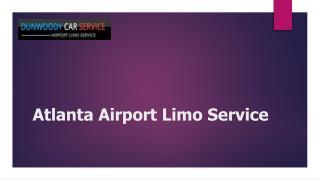 Atlanta Airport Limo Service