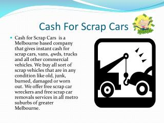 Cash for scrap cars | Car Wreckers | Cash for Cars