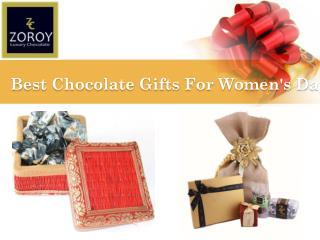 Buy Online Chocolate Gift for Women's Day – Zoroy.com