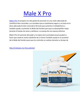 http://supplementplatform.strikingly.com/blog/male-x-pro