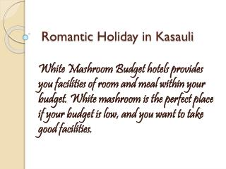 Romantic holiday kasauli