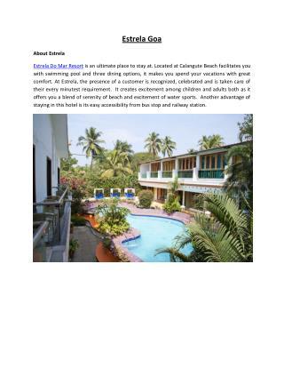 Estrela Do Mar Resort