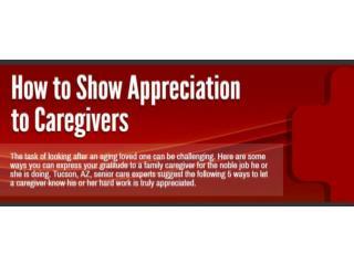 How to Show Appreciation to Caregivers