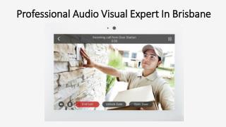 Professional Audio Visual Expert In Brisbane