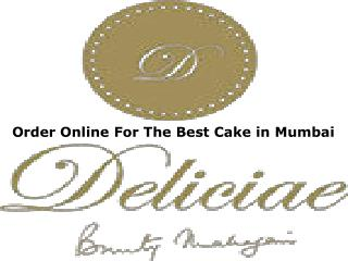 Order Online For The Best Cake in Mumbai