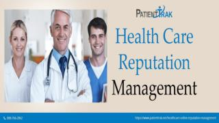 The complete guide to doctor online reputation management