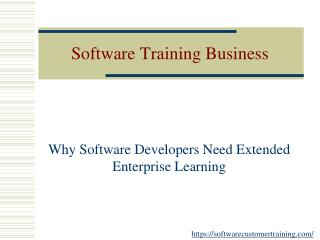 Why software developers need extended enterprise learning