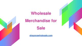 General Merchandise Wholesale