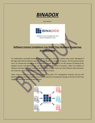 Software License Compliance Can Make Your Business Prosperous And Flourished