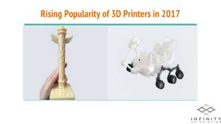 Rising Popularity of 3D Printers in 2017