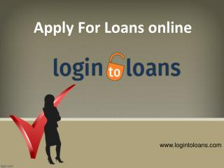 Compare and Apply for Loans & Credit Cards in India, Instant and Easy Loan providers online
