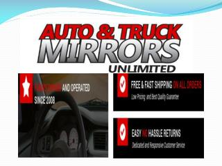 Mirror Replacement of Side View, Auto Side Mirrors ,Truck, Car and Tow Mirrors