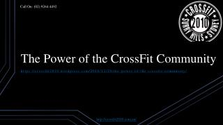 The Power of the CrossFit Community