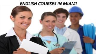 English Courses In Miami