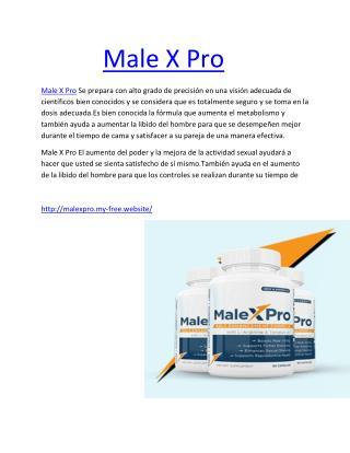 https://www.facebook.com/Male-x-Pro-745796735577060/