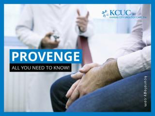 PROVENGE - An Innovative Prostate Cancer Treatment