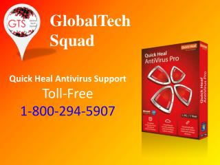 Quick heal Antivirus Suppport | Technical Number 1-800-294-5907