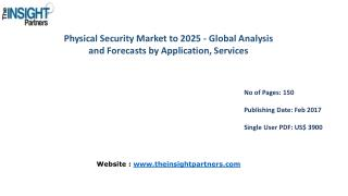 Physical Security Market Shares, Strategies, and Forecasts, Worldwide, 2016 to 2025 |The Insight Partners