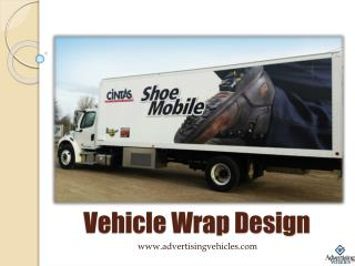Vehicle Wrap Design by Advertising Vehicles