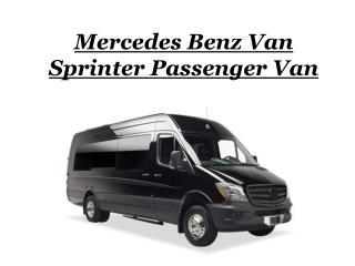 Mercedes Benz Van Sprinter Passenger Van