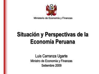 Ministerio de Econom a y Finanzas