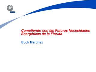 Cumpliendo con las Futuras Necesidades Energ ticas de la Florida