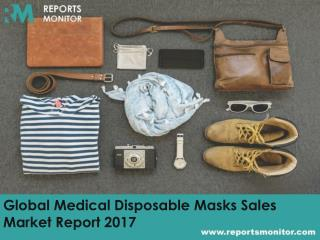 Global Medical Disposable Masks Sales Market Opportunities and Market Segmentation