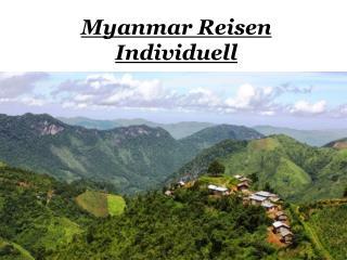 Myanmar Reisen Individuell