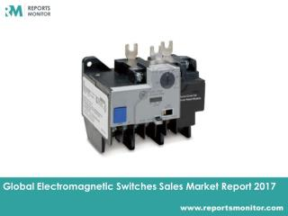 Electromagnetic Switches Market Research and Forecast