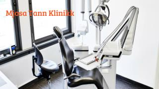 Dental pain treatment | mjøsatannklinikk.no