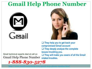 What is Gmail Help Phone Number @1-888-830-5278?
