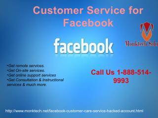 Meet Facebook Help group at 1-888-514-9993