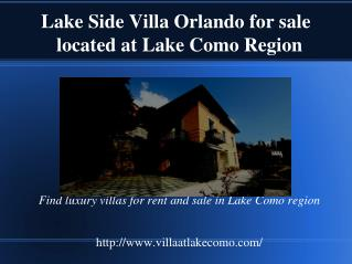 Beautiful Lake Side villa Orlando for sale