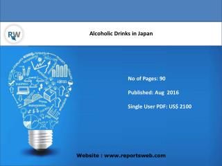 Market Growth on Alcoholic Drinks in Japan