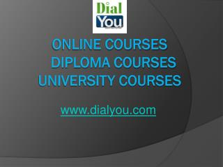 DialYou Online Courses