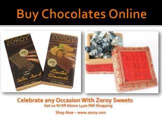 Buy Chocolates Online @ Zoroy