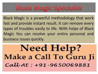 Best Black Magic Specialist