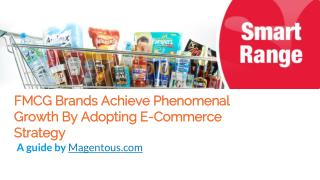 FMCG Brands Achieve Phenomenal Growth By Adopting E-Commerce Strategy