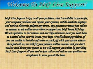 Hardware Support and Maintenance Services-24x7live support.