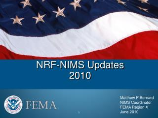 NRF-NIMS Updates 2010