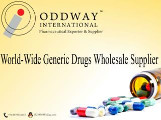 Worldwide Life Saving Drugs Supplier : Oddwayinternational