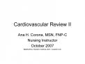 Cardiovascular Review II