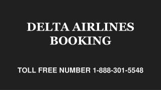 DELTA AIRLINES BOOKING