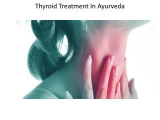 thyroid treatment in ayurveda