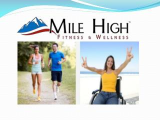 Corporate Wellness Portal -Mile High Fitness and Wellness