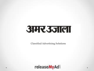 Amar Ujala Classified Advertisement