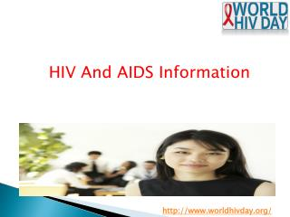World AIDS day - World HIV day Organizations