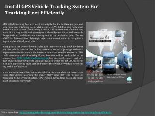 Buy GPS Tracking Device System in Delhi, India Online